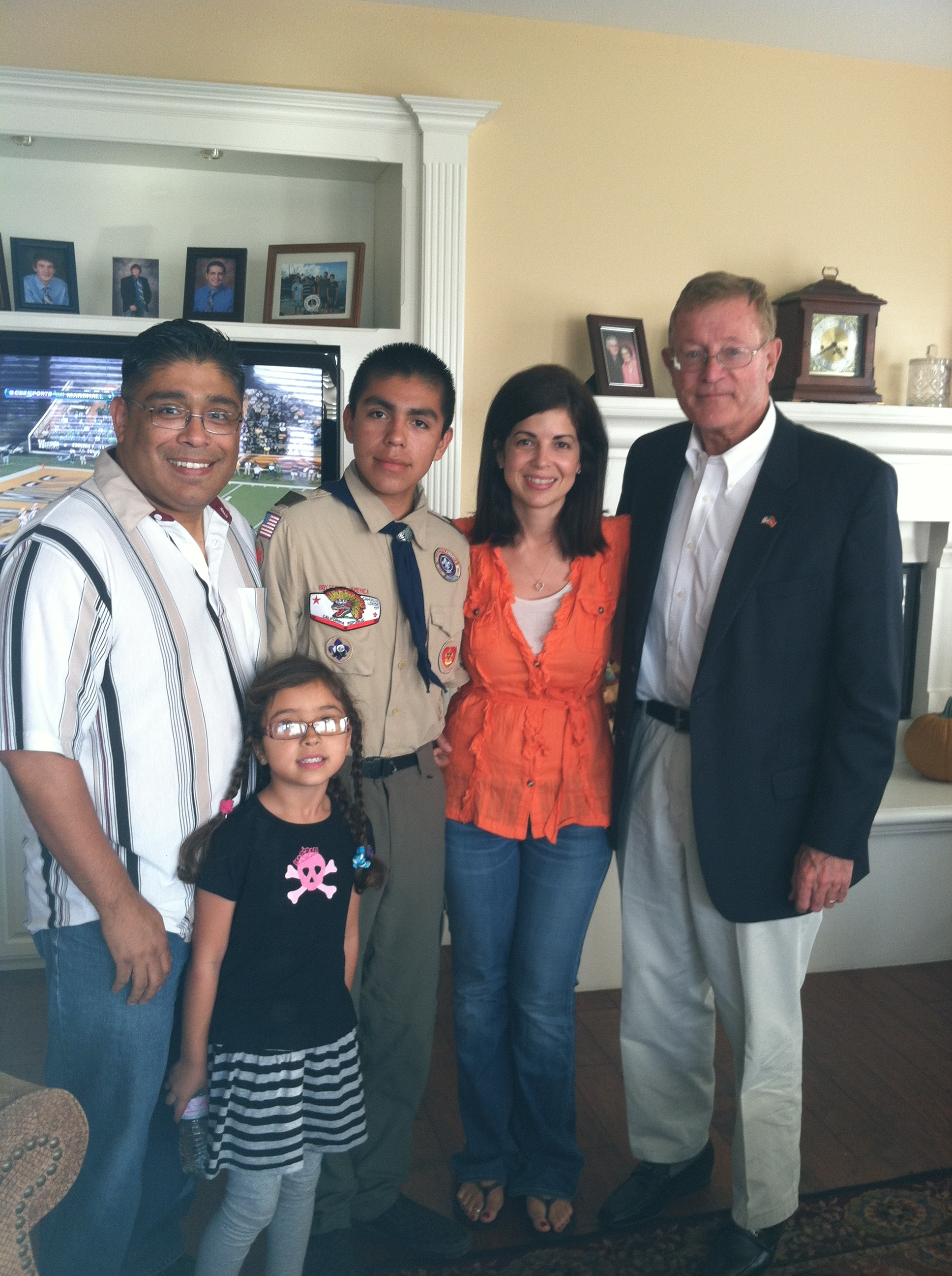 Samaniego's Support Col. Paul Cook for Congress