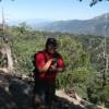 Carlos climbing Mazanita Peak