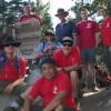 Troop 11 climbing Mazanita Peak
