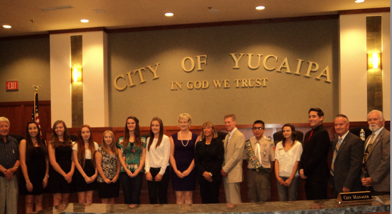 Andrew Samaniego Appointed to Yucaipa Youth Commission
