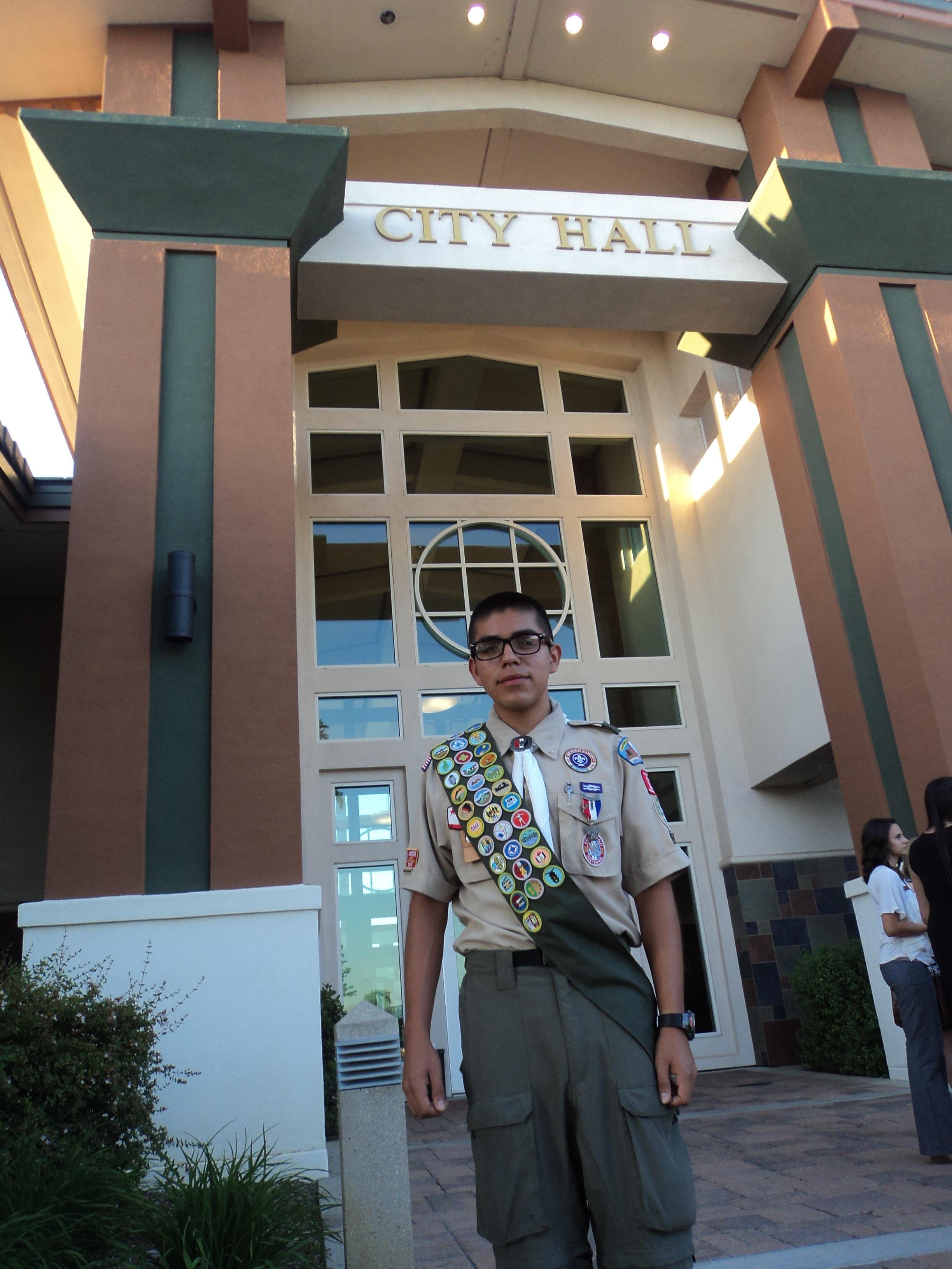 Andrew Samaniego, Yucaipa Youth Commission