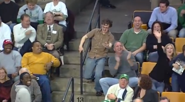 One Man Dances Like Nobody's Watching While Everyone … (Video)