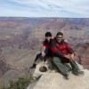 Liz and Carlos at Grand Canyon