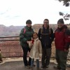 Samaniego Family at Grand Canyon