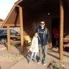 Hanging out at the Cabins near Williams, Arizona
