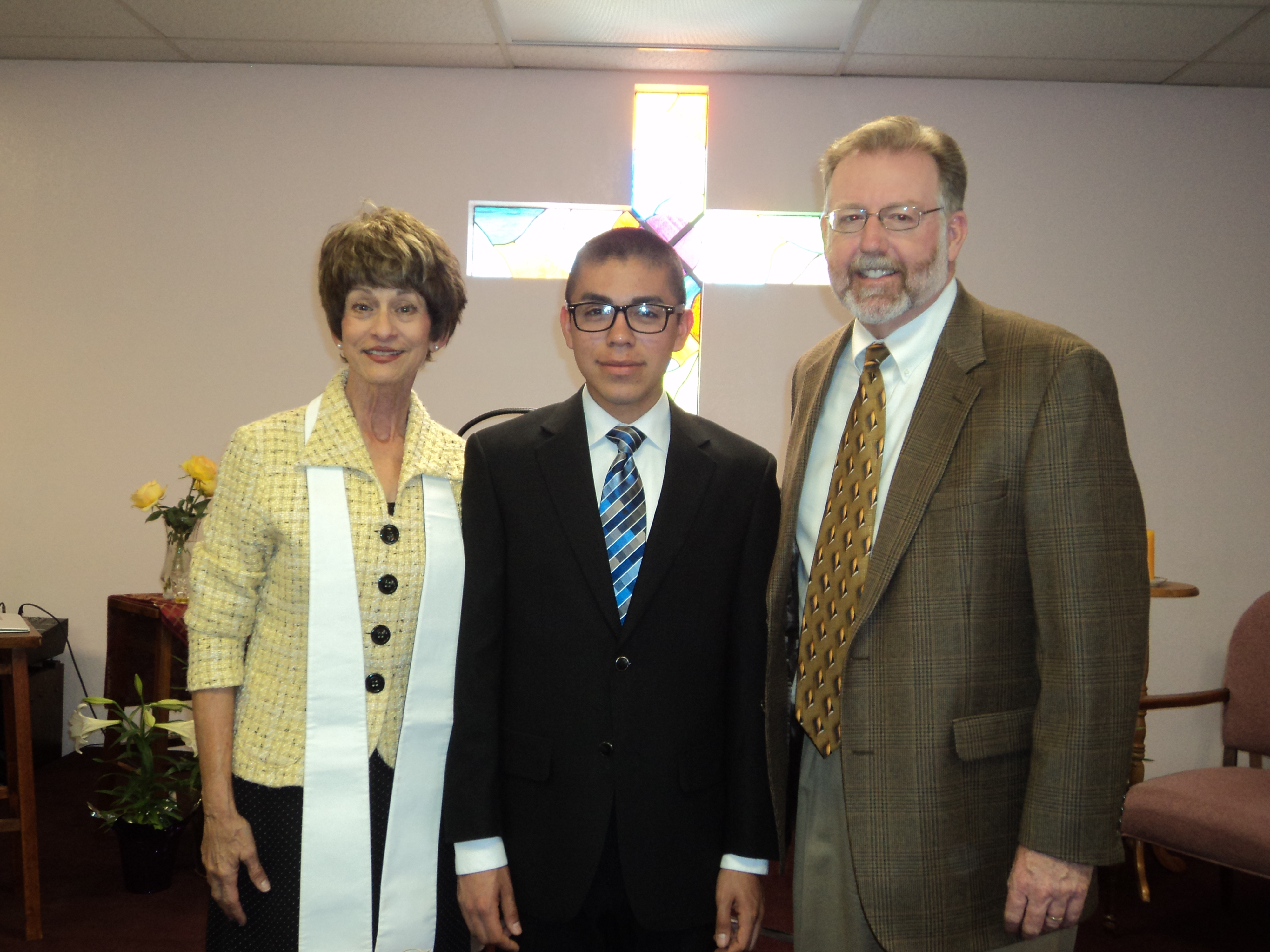 Baptism of Andrew Samaniego