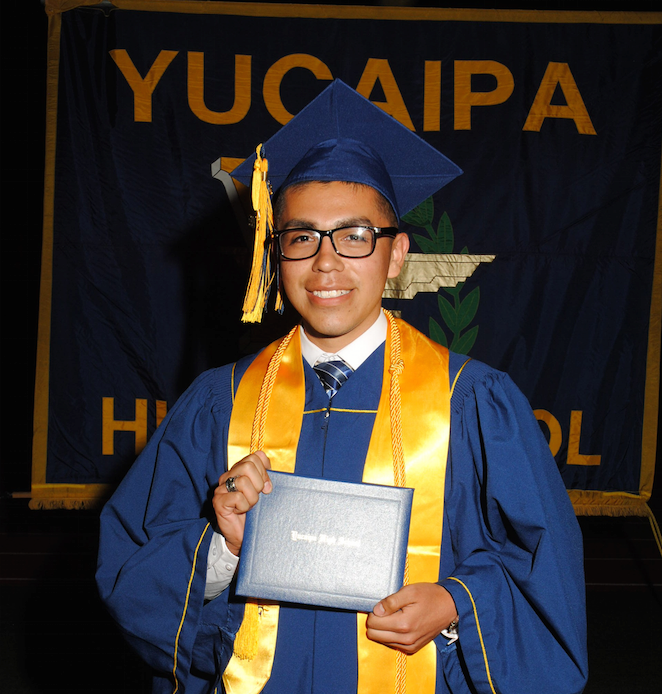 Andrew Graduation from Yucaipa High School
