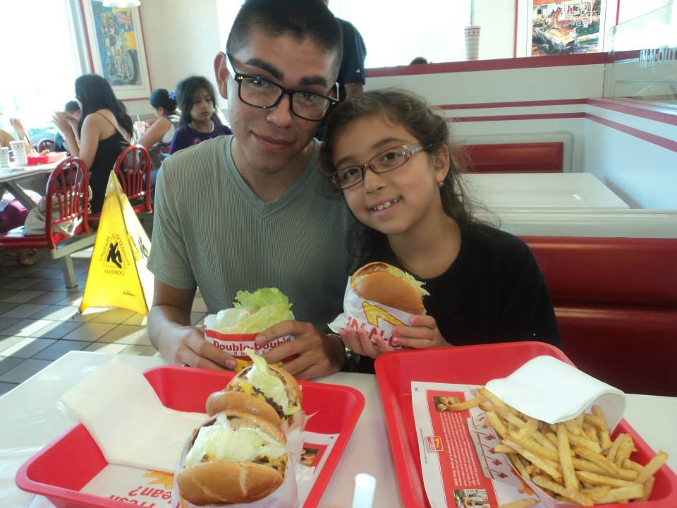 Andrew wants his final meal and In-n-Out before leaving for Naval Academy Prep School.